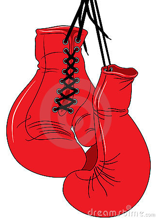 324x450 Boxing Gloves Drawing