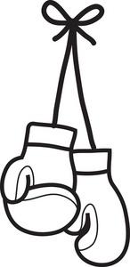 146x300 Clip Art Women's Boxing Gloves