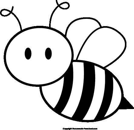 442x428 Bumble Bee Clip Art