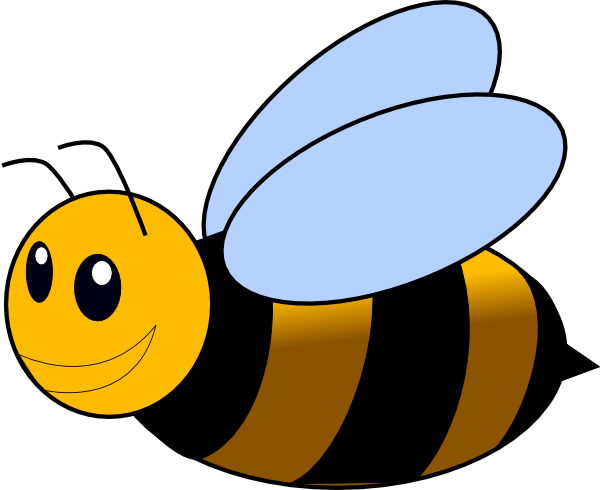 600x490 Bumble Bee Clip Art