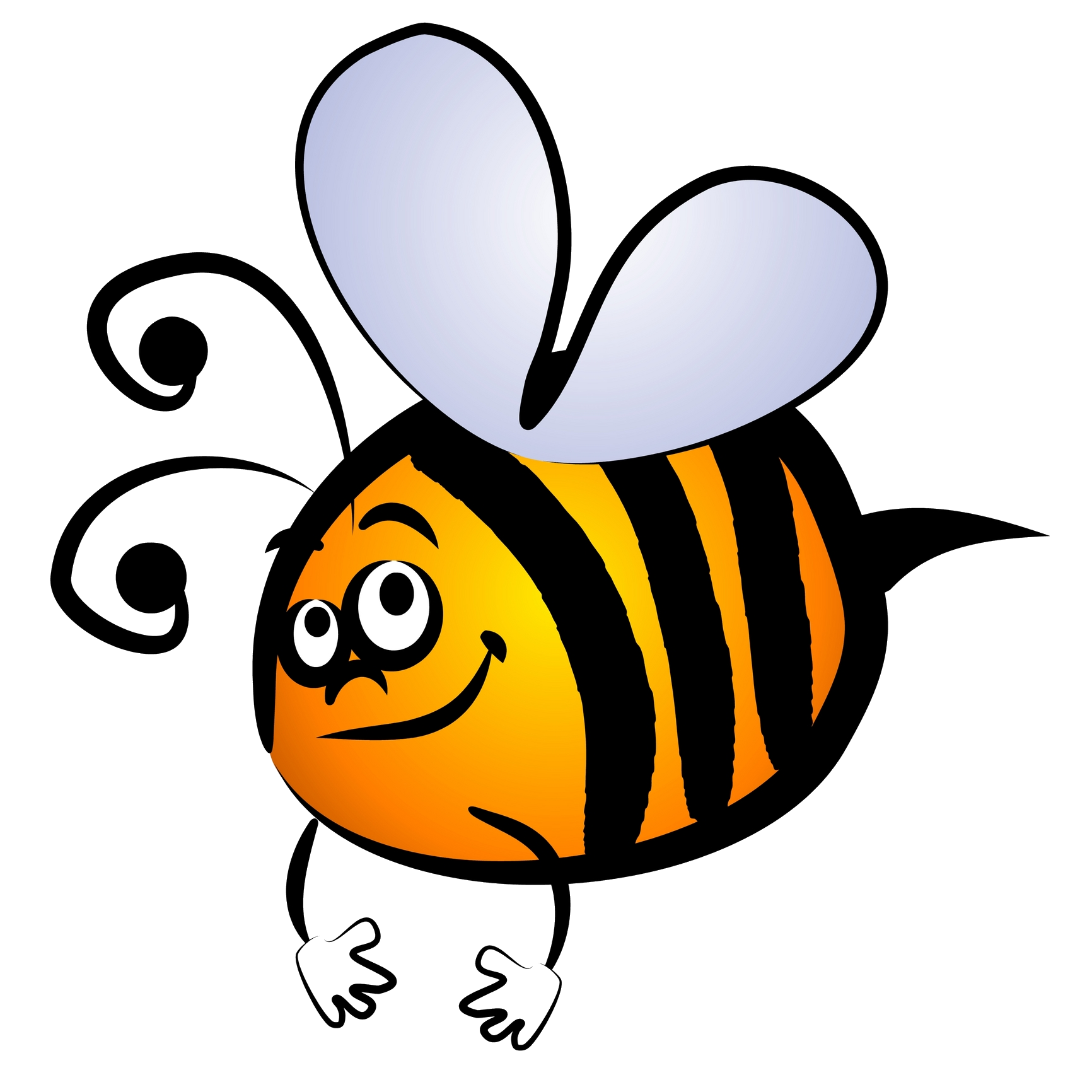 1732x1732 Bumblebee Clipart Background