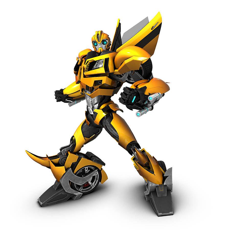 900x900 Bumblebee Transformer Clipart Image