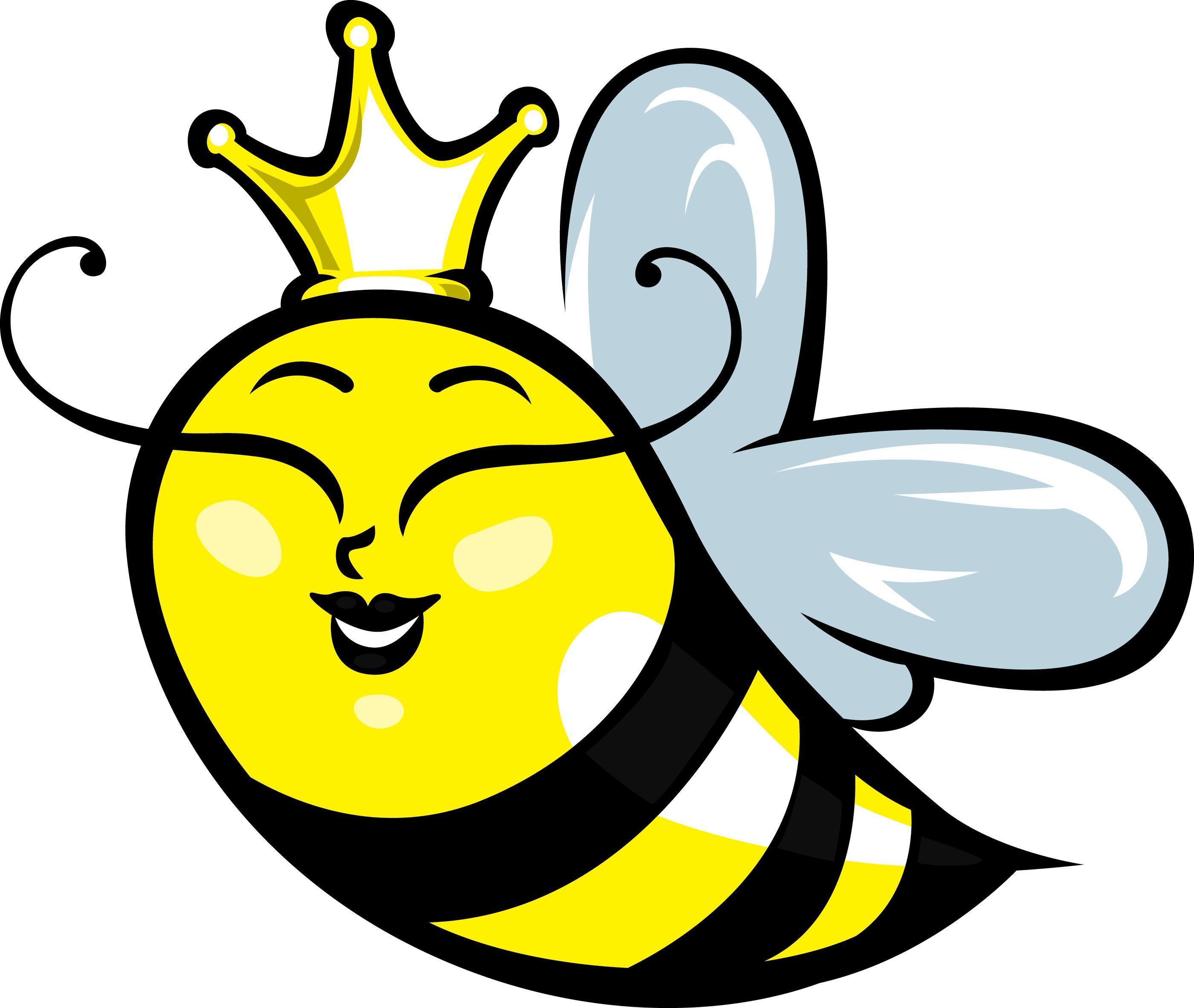 2800x2365 Hd Cartoon Bumble Bee Clip Art Clipart Clipartwiz Pictures