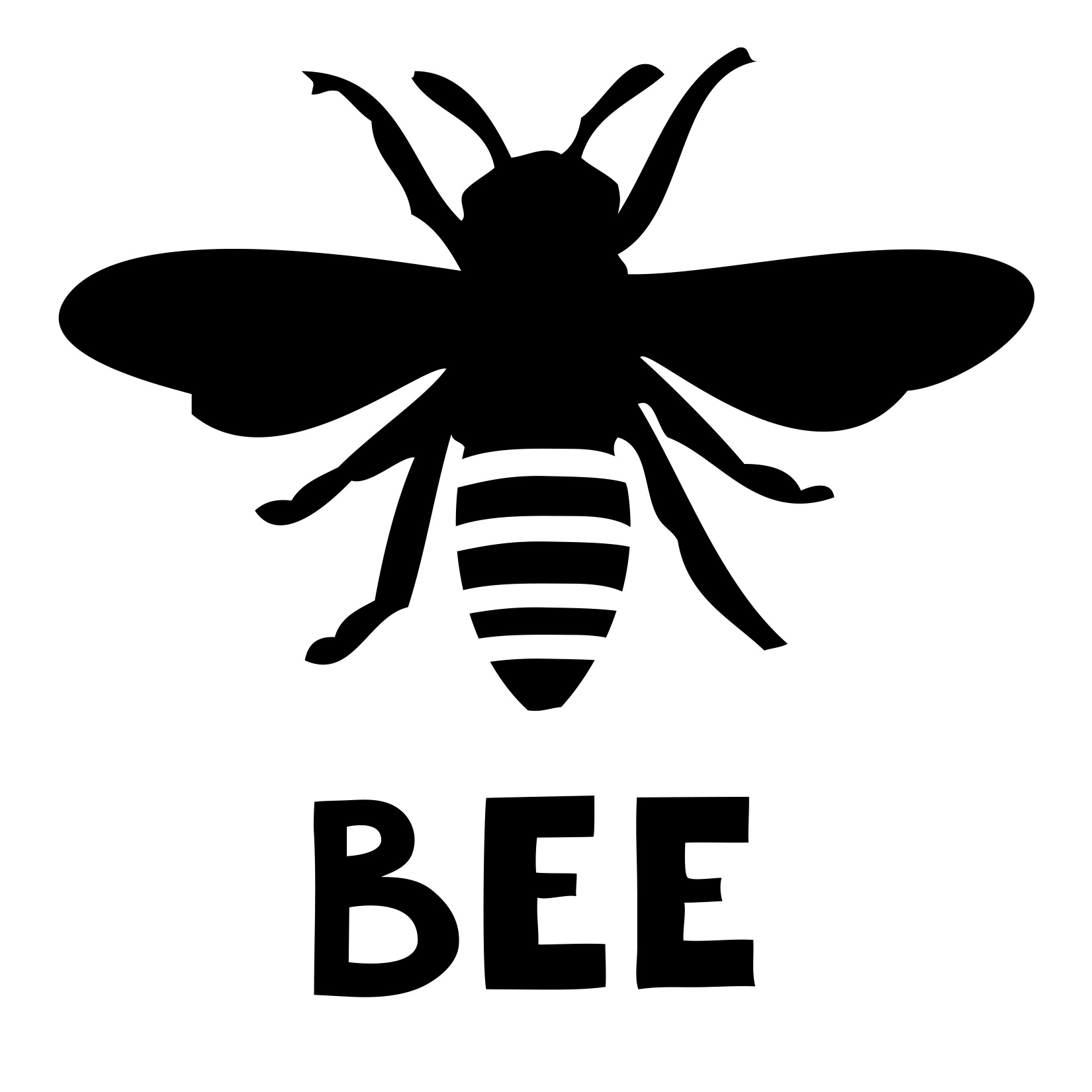 1650x1650 Silhouette Bee Clipart, Explore Pictures