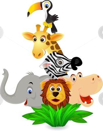 354x450 Die Besten Cartoon Jungle Animals Ideen Auf Safari