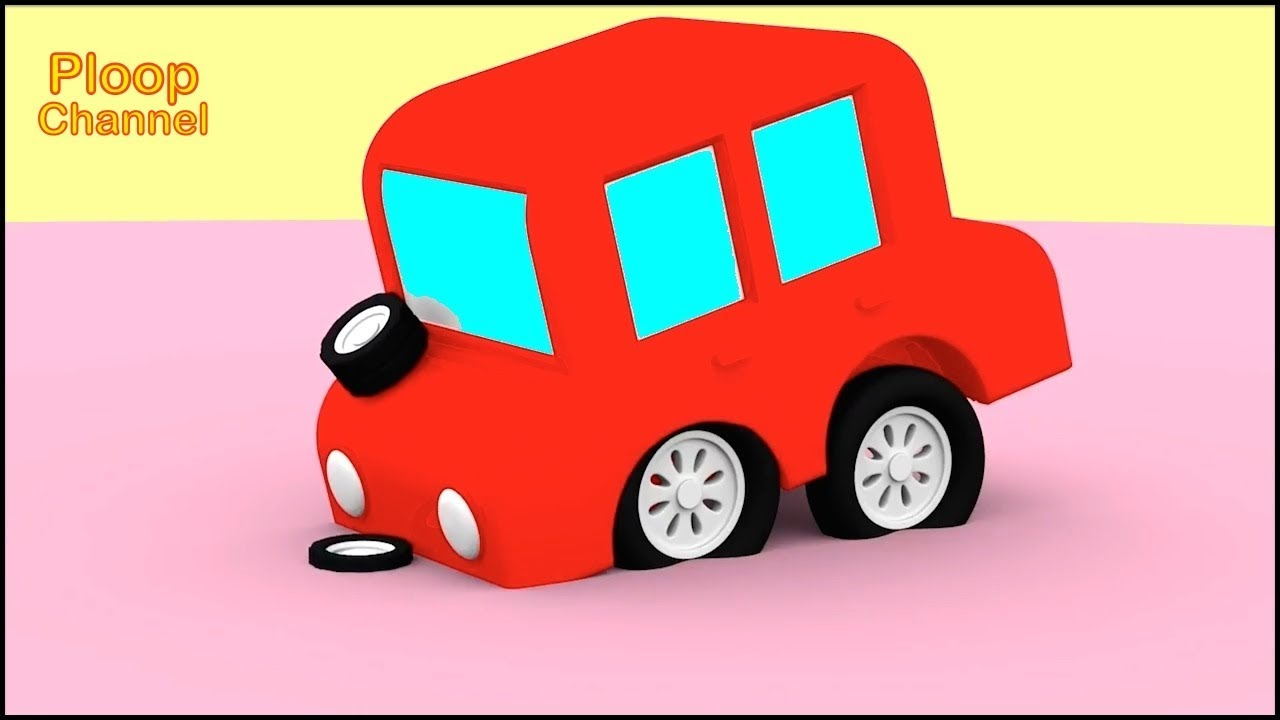 1280x720 Cartoon Cars
