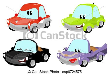 450x305 Cartoon Cars Clipart