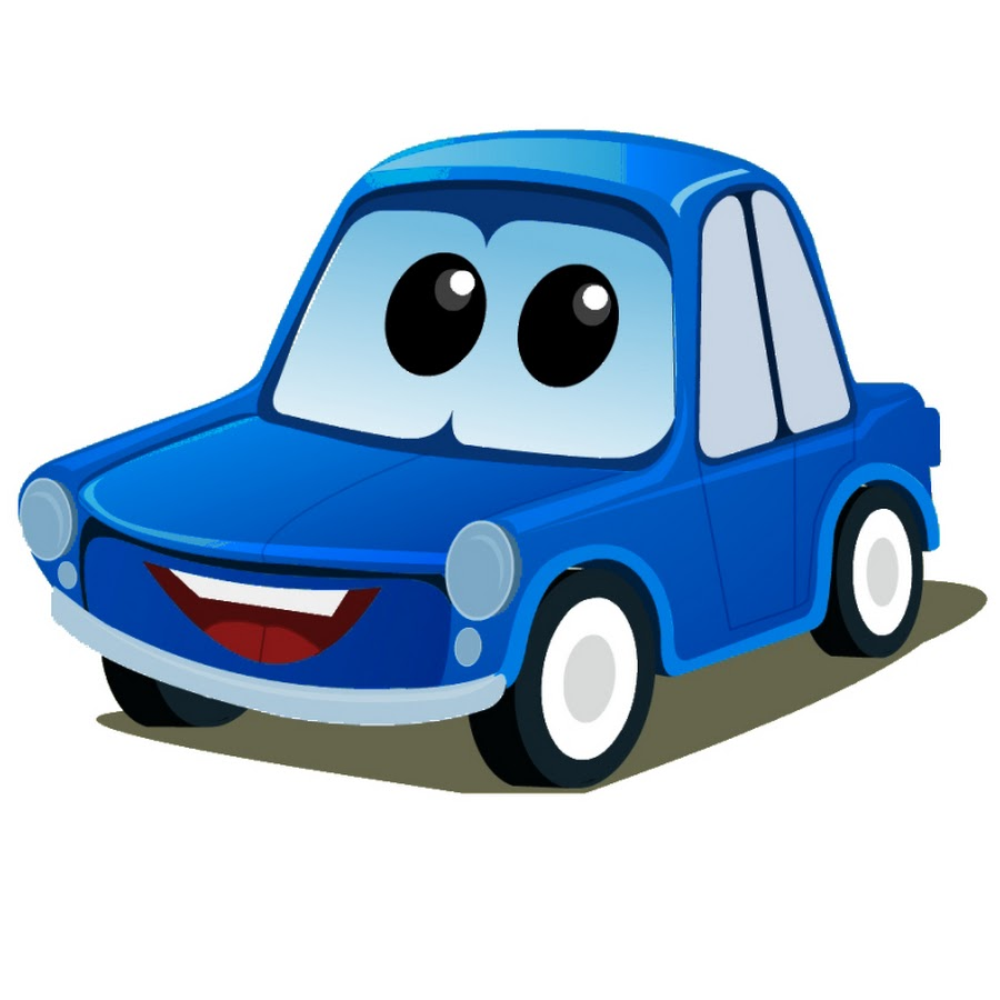 900x900 Blue Car Clipart Cartoon