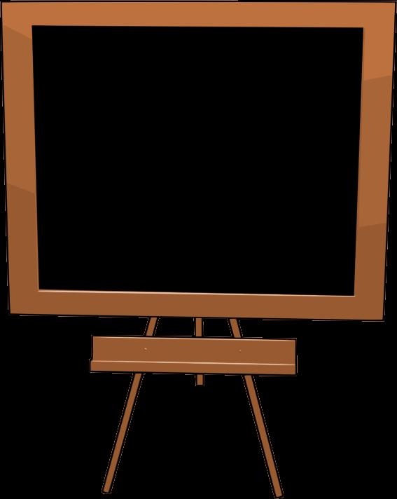 567x712 Chalkboard Cliparts