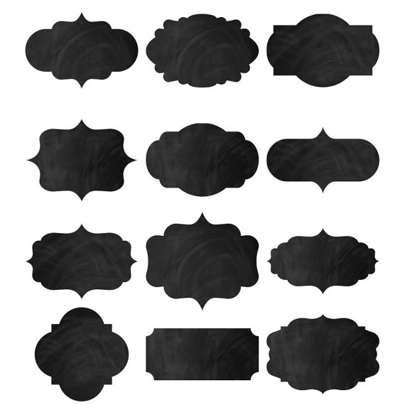 570x570 Digital Chalkboard Frames Chalkboard Labels 24 Frames