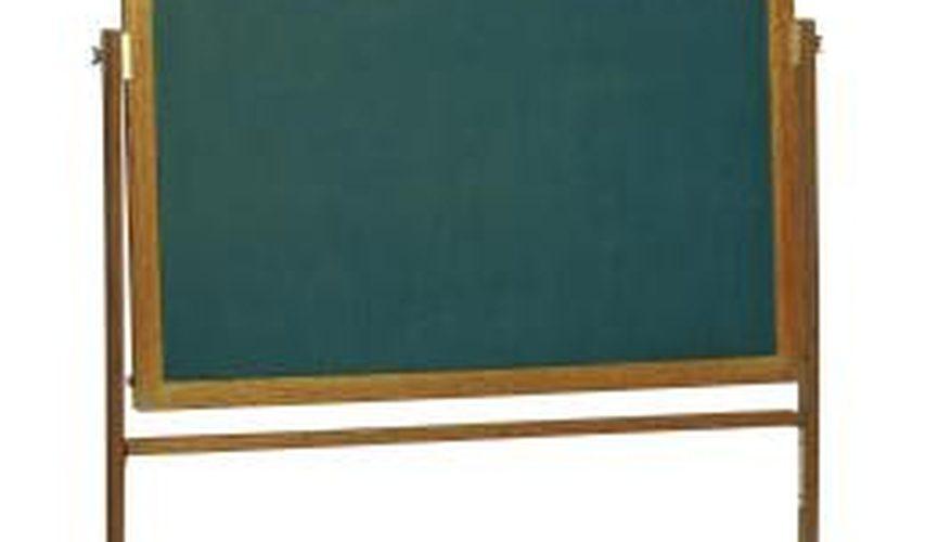 877x500 How To Make A Roll Away Chalkboard Homesteady