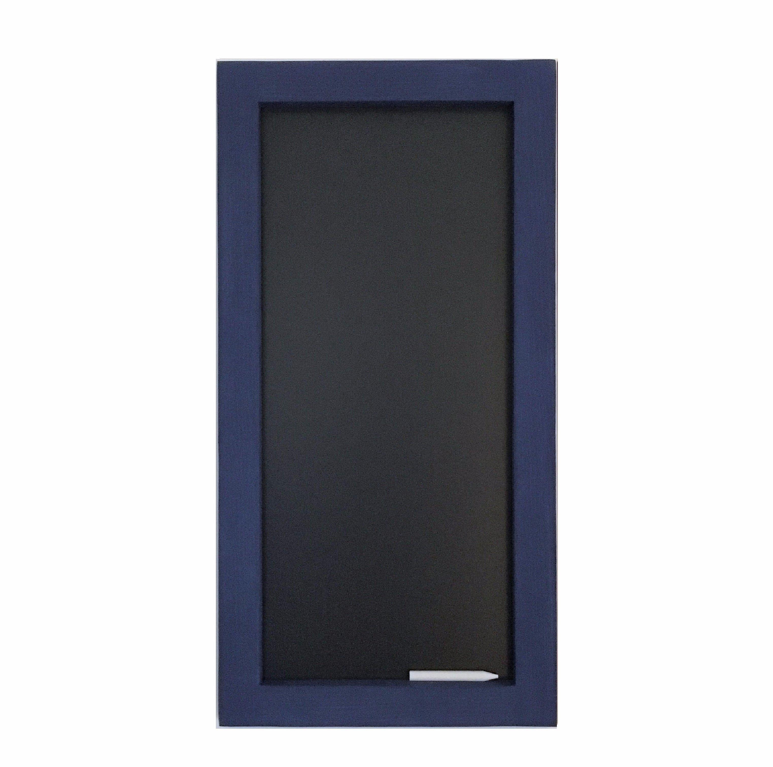 3047x3023 Rectangular Chalkboard With Atlantic Pine Frame 12 X 24 Wall