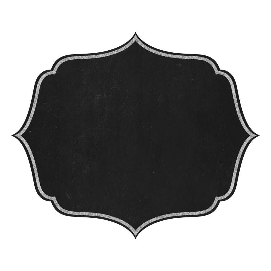 900x900 Shapes Clipart Chalkboard