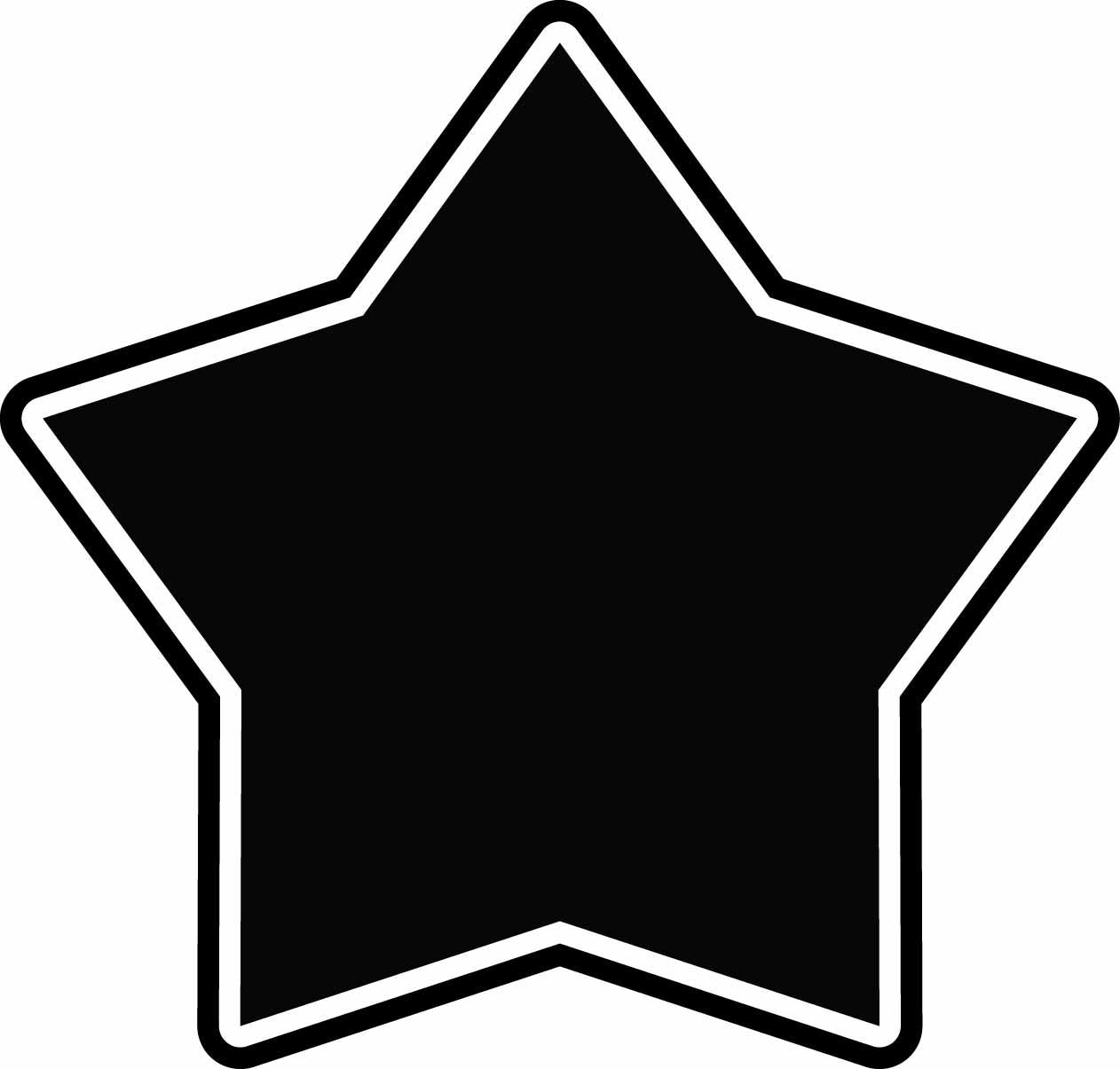 1262x1205 Star Clipart Chalkboard