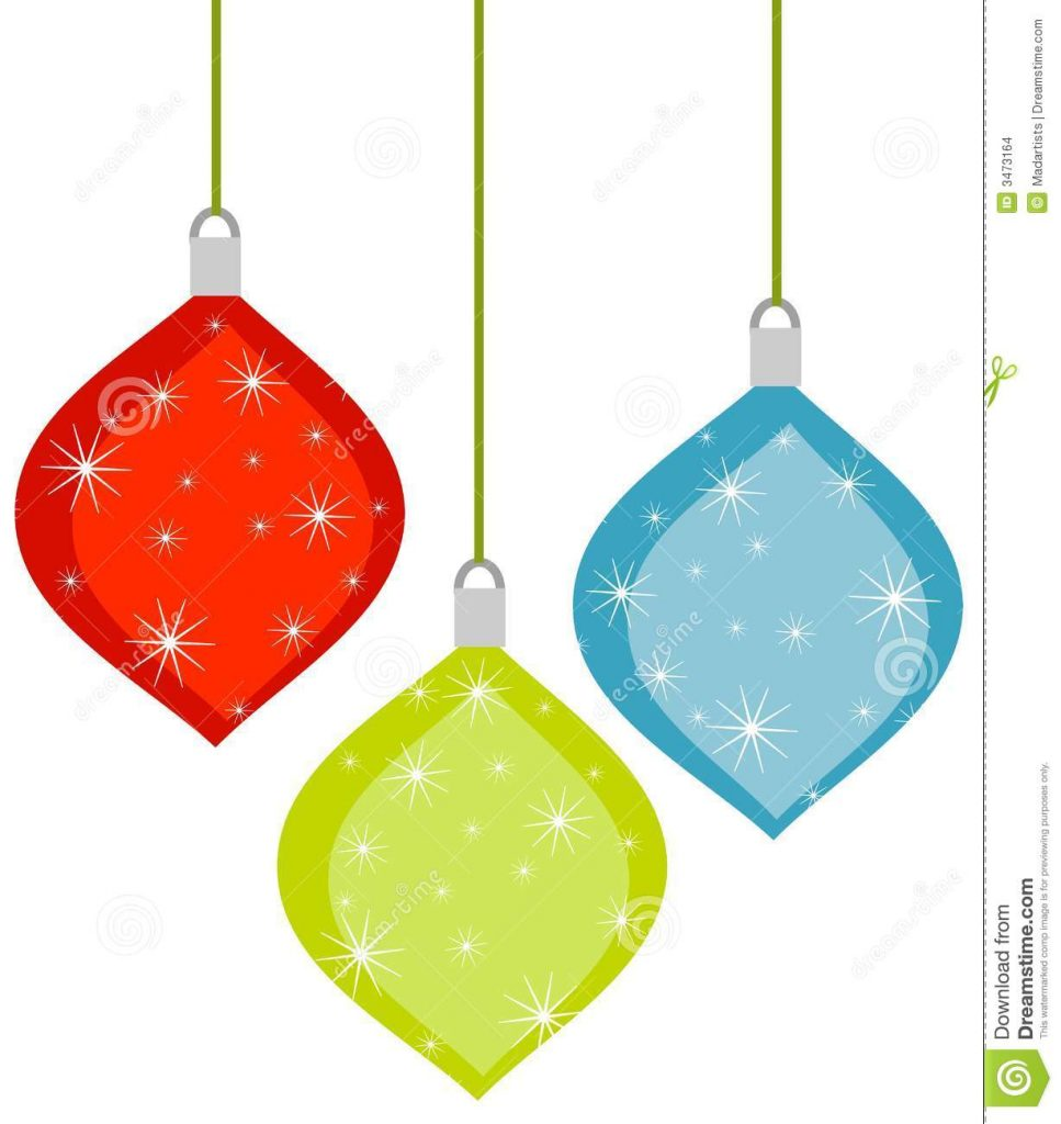 967x1024 Christmas Decor Retro Christmas Ornaments Stock Images Image
