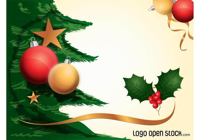 700x490 Christmas Decorations Background