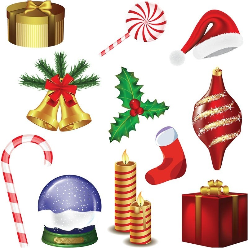 800x800 Pictures Of Christmas Decorations Clipart