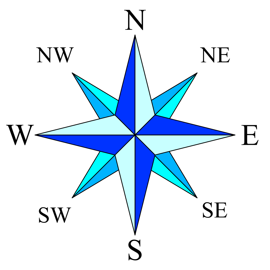 1024x1024 Filecompass Rose Simple.svg