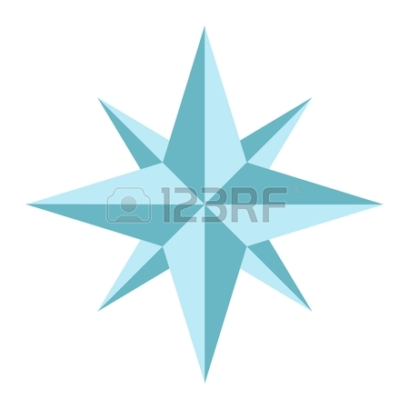 450x450 678 Line Compass Rose Stock Vector Illustration And Royalty Free