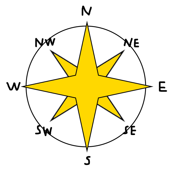 600x600 An Ordinary 8 Point Compass Rose By Neopets2012