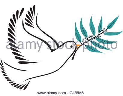 410x320 Dove With Olive Branch Stock Vector Art Amp Illustration, Vector