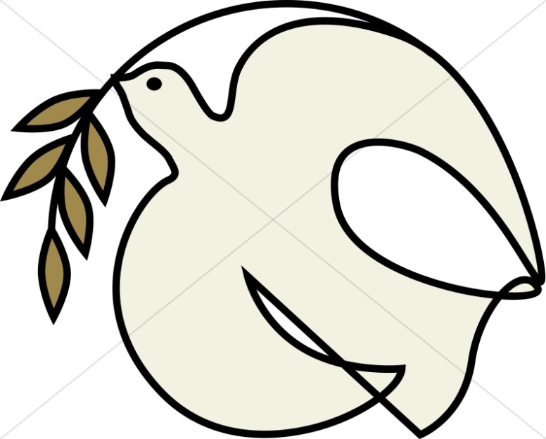 776x624 Off White Dove With Olive Branch Dove Clipart