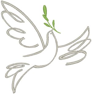 300x306 Best Dove With Olive Branch Ideas Dove