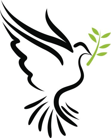 372x461 Olive Clipart Dove