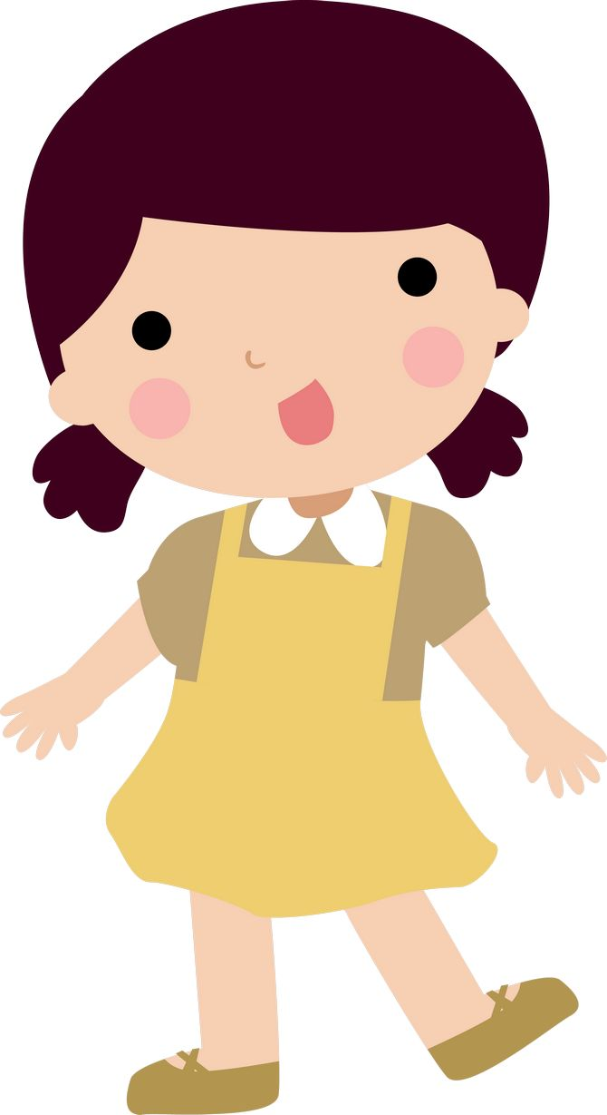 Picture Of Girl Clipart