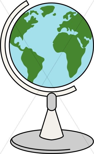 375x612 Globe Clipart Spinning