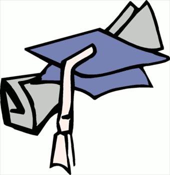 340x350 Free Graduation Cap Clipart