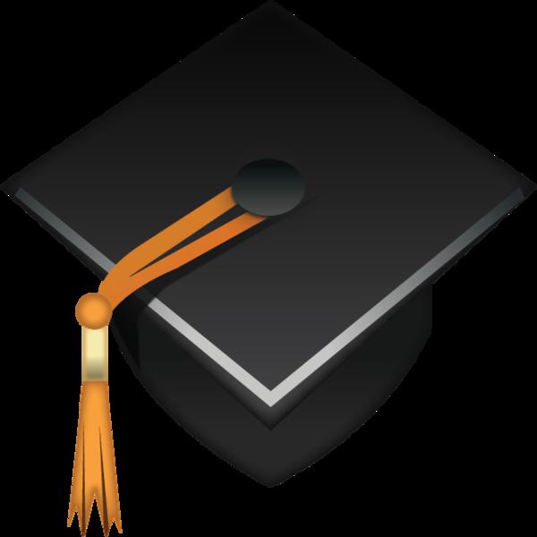 600x600 Download Graduation Cap Emoji Icon Emoji Island