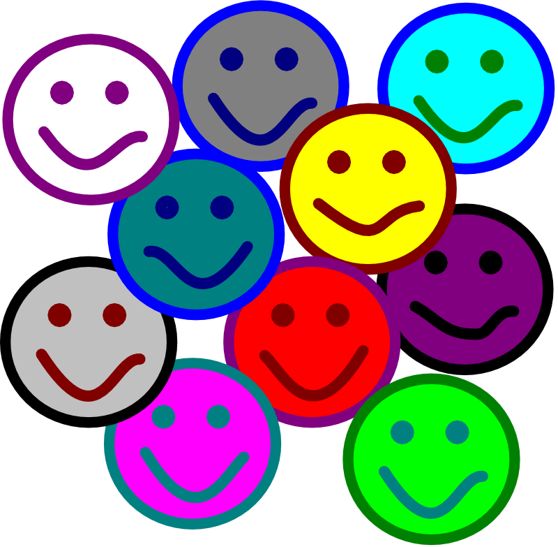 800x783 Group Of Happy People Clipart