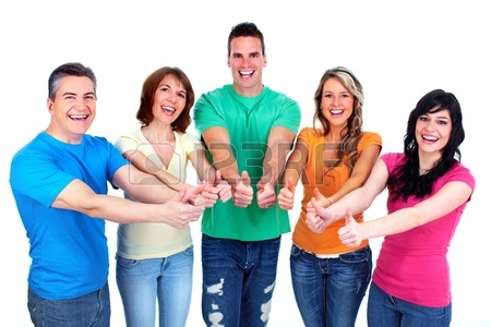 450x300 Group Of Happy People Stock Photo, Picture And Royalty Free Image