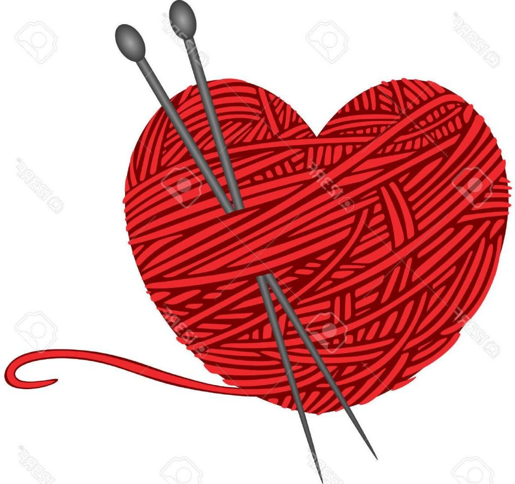 1024x964 Best Free Wool Knitting Heart Shape Stock Vector Pictures