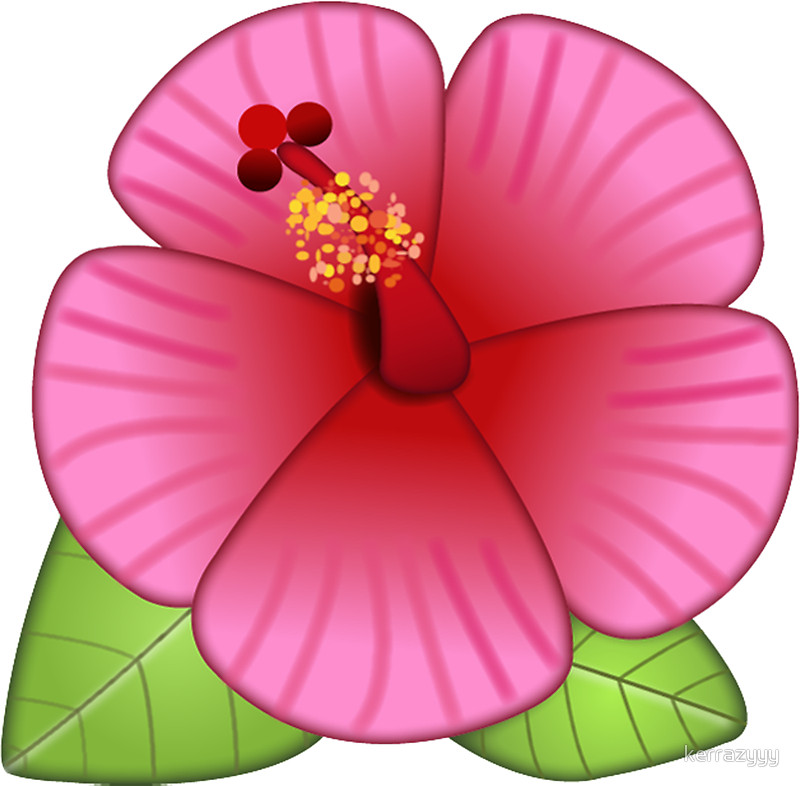 800x786 Hibiscus Flower Stickers By Kerrazyyy Redbubble