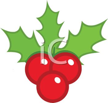 350x334 Holly Berries