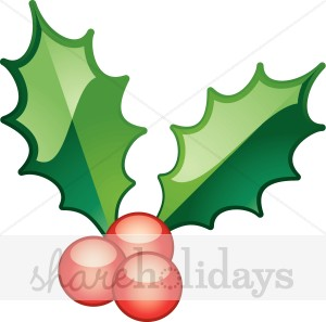 300x297 Shiny Holly Berries Holly Clipart
