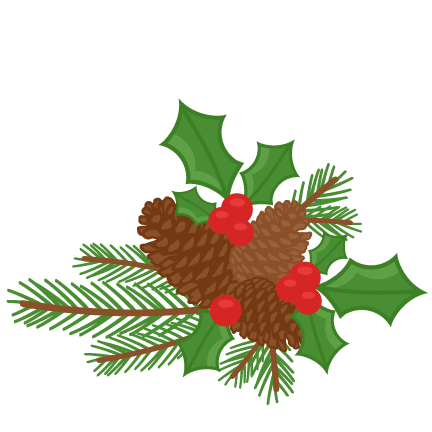 432x432 Amp Holly Berries Scrapbook Clip Art Christmas Cut Outs For Cricut