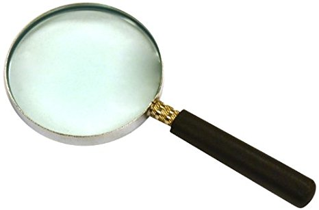 466x307 Eisco Labs Ph0510b 2 Magnifying Glass With Handle, 5.75 Focal