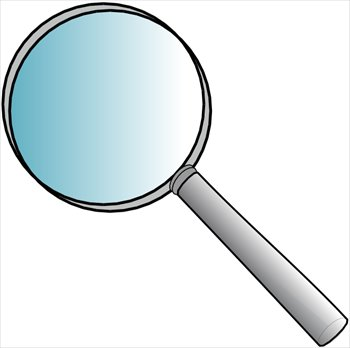 350x348 Free Magnifying Glasses Clipart