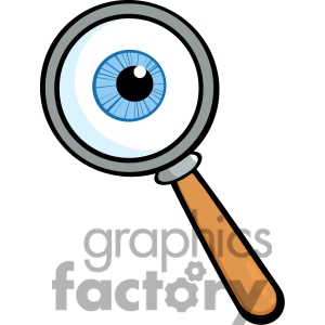 300x300 Magnifying Glass Clipart Transparent Background Clipart Panda