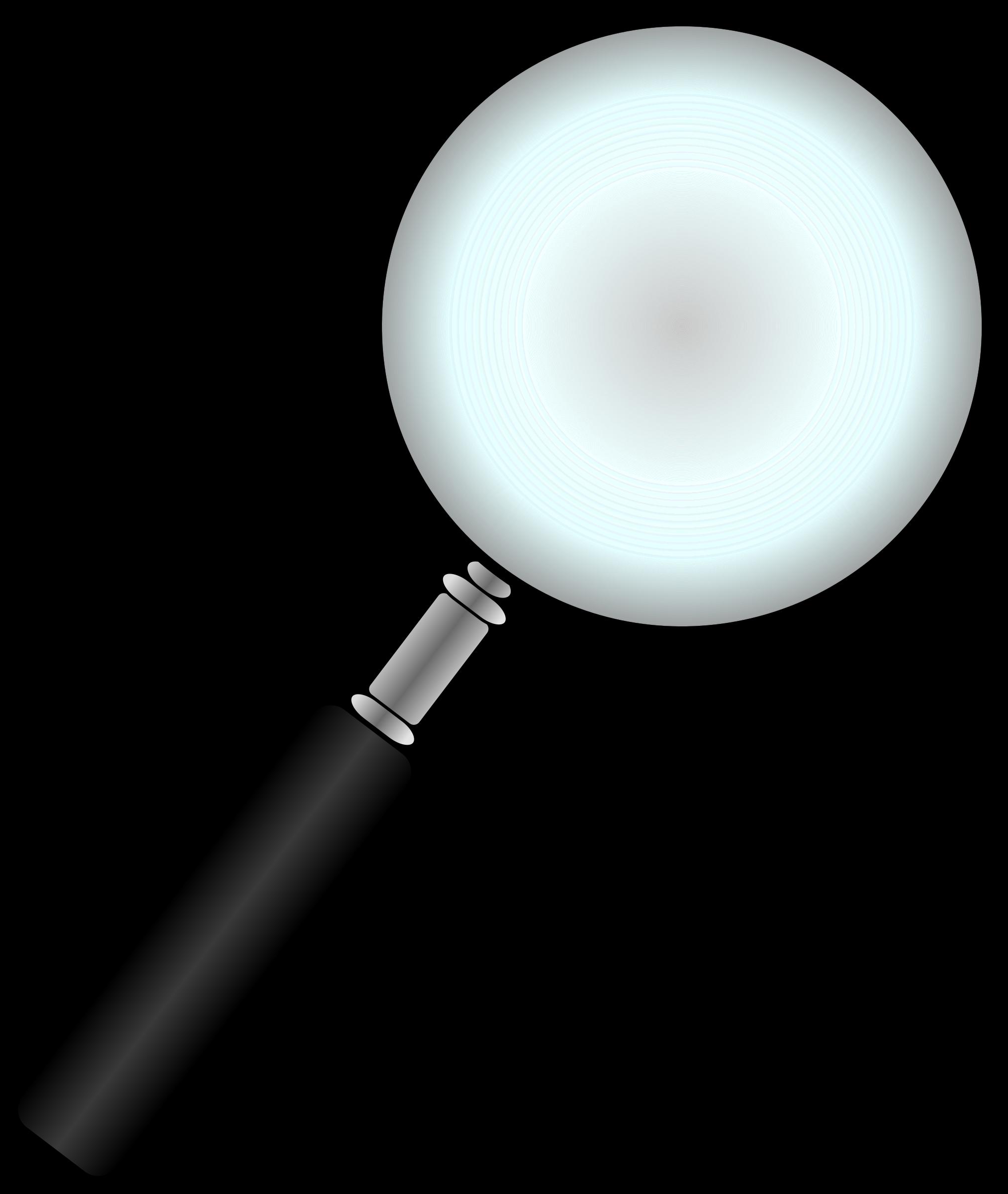 2027x2400 Black Magnify Glass Clipart