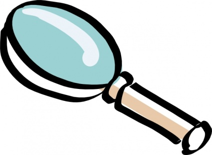 425x312 Magnifying Glass Clipart Transparent Background 3