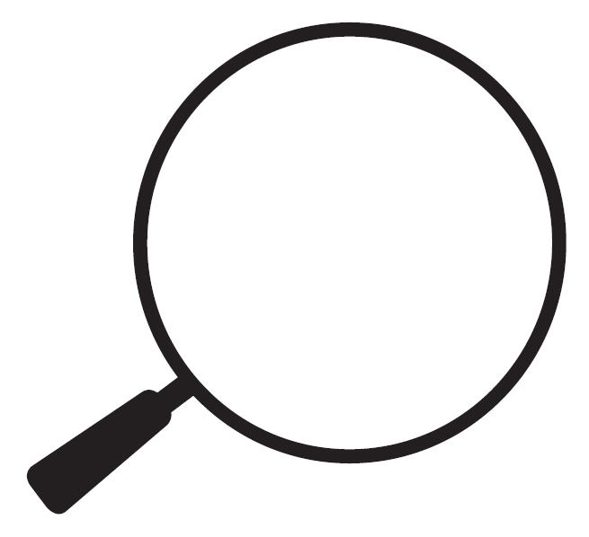 655x598 Magnifying Glass Graphic Clipart