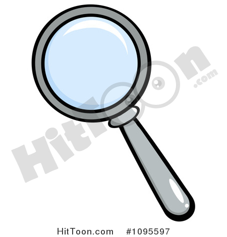 450x470 Magnifying Glass Clipart