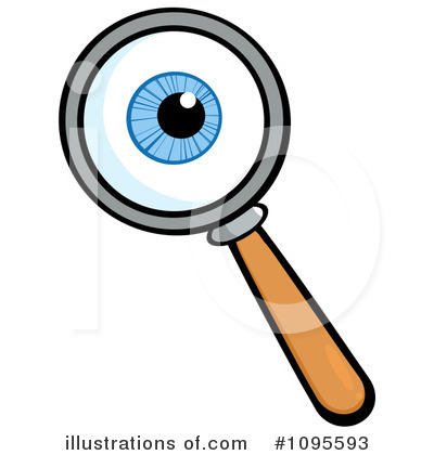400x420 Magnifying Glass Clipart