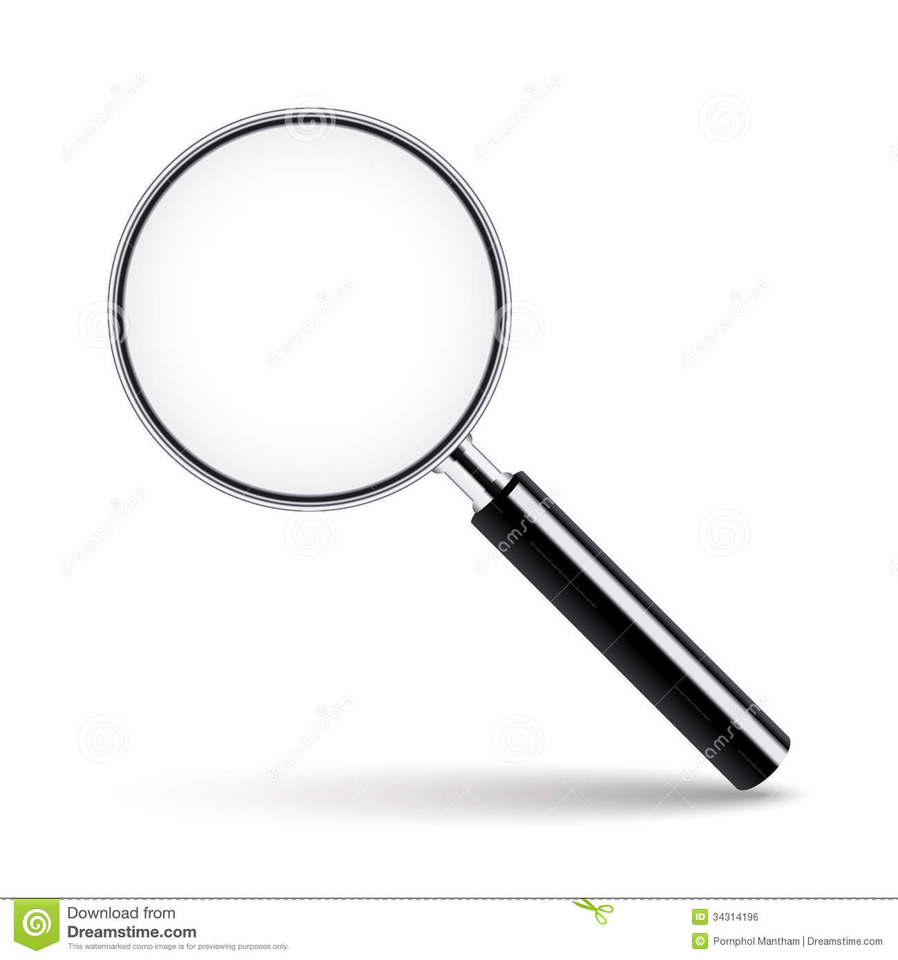 1300x1390 Magnifying Glass Clipart No Background