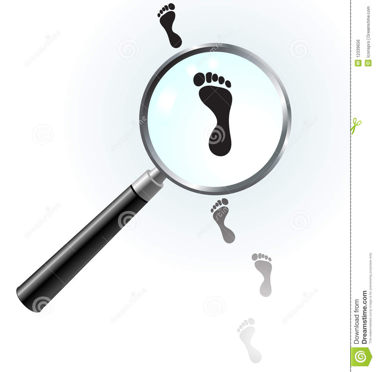 1314x1300 Footprint Clipart Magnifying Glass