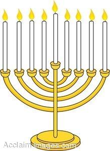 219x300 Hanukkah Menorah